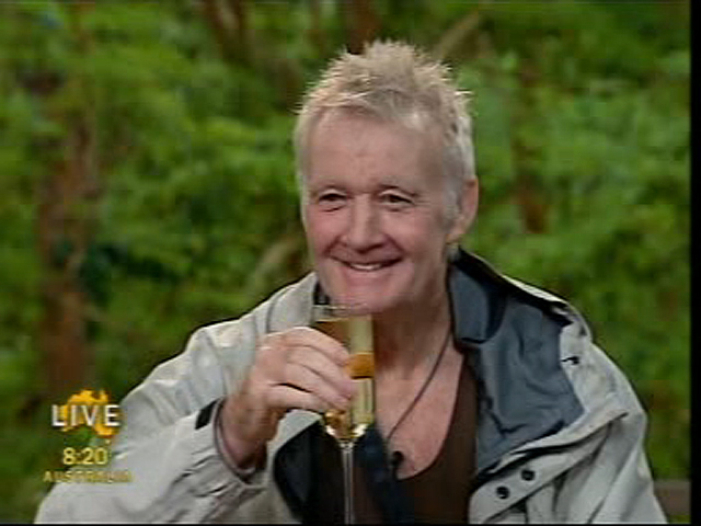 I'm A Celebrity: Rodney shown the red card