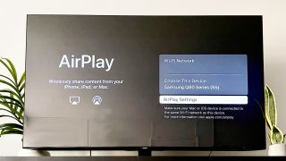 How to AirPlay to a Samsung TV