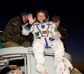 Brazilian President Praises Nation's First Astronaut After Flight