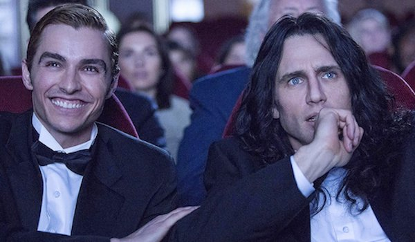 Dave Franco as Greg Sestero and James Franco as Tommy Wiseau in The Disaster Artist