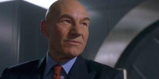 Patrick Stewart as Professor X in X-Men