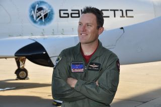 Fallen SpaceShipTwo pilot's name added to Space Mirror Memorial