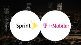 Sprint / T-Mobile logos