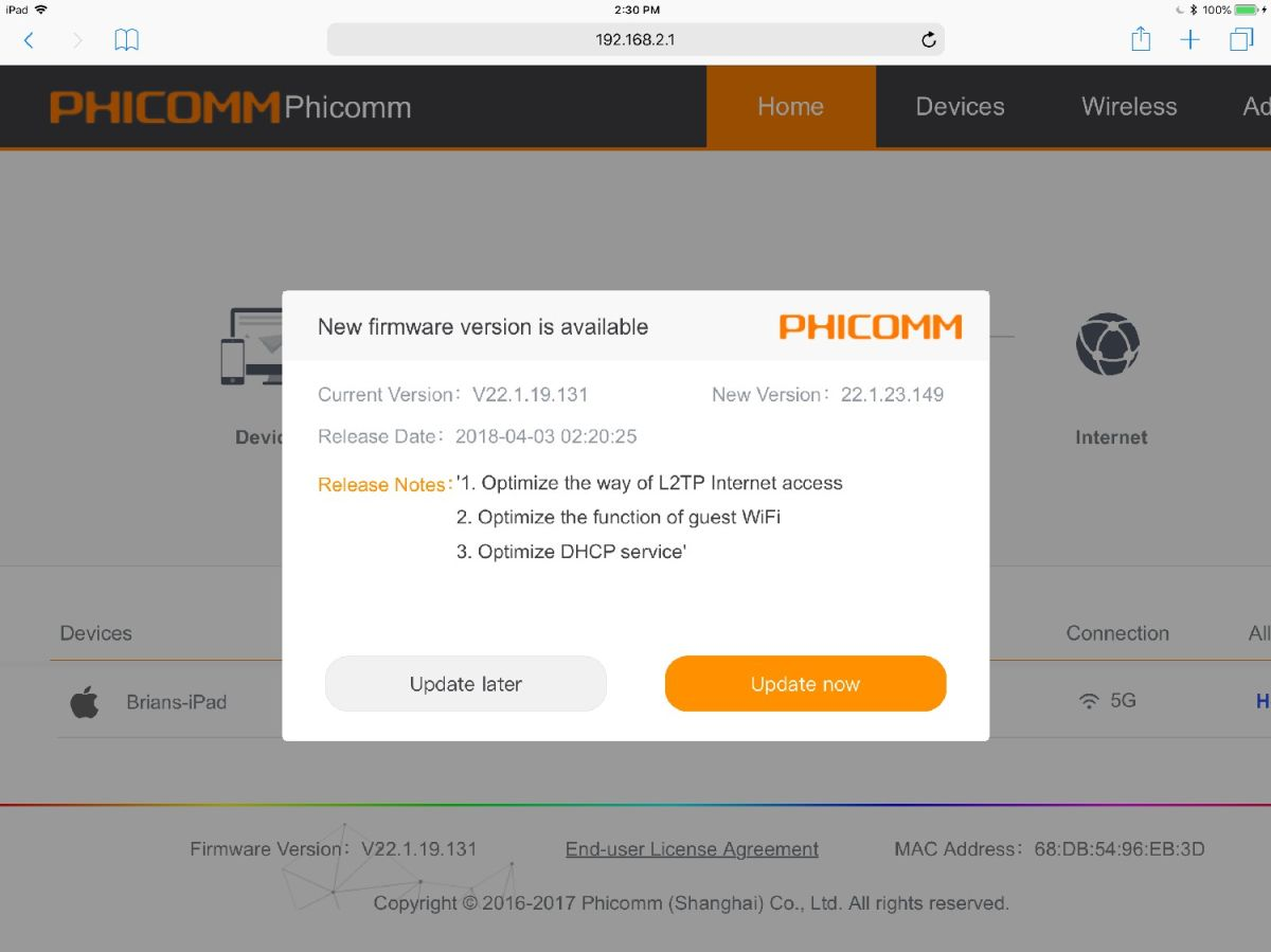 Phicomm K3 Router – Full Review and Benchmarks   Tom's Guide