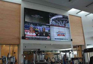 UC Riverside's New Expansive Video Wall