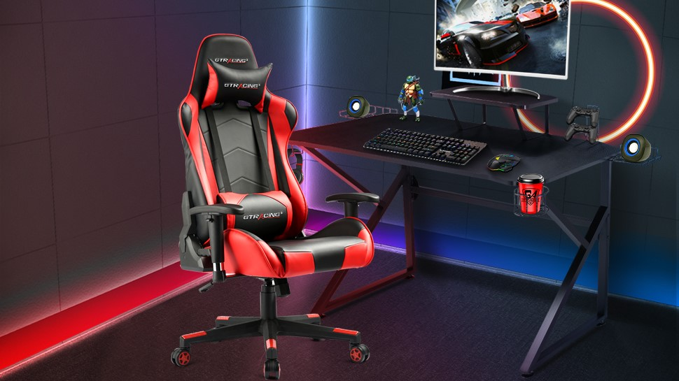 Hunker down for more comfortable gaming the GTRacing's top-selling gaming chairs