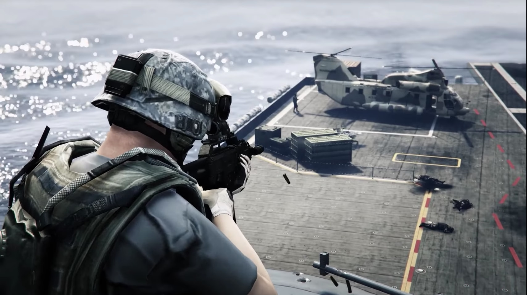 GTA 5 Warfare mod adds 20v20 military-themed showdowns | PC Gamer