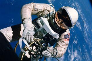 Astronaut Edward H. White II Spacewalk