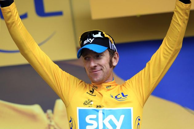 Bradley Wiggins, Tour de France 2012, stage 14