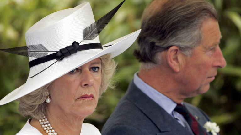 Duchess Camilla and Prince Charles Attend The Metropolitan Police Annual Memorial Service & Reception In Hendon, London