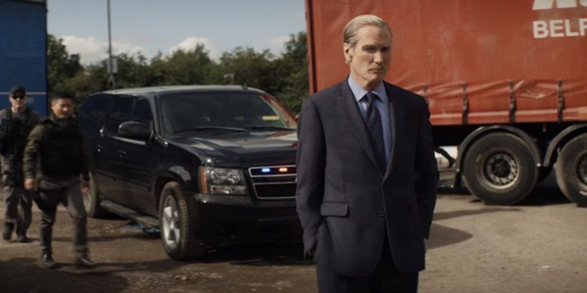 William Hurt's Thunderbolt Ross looks to have shed off a few years for Black Widow