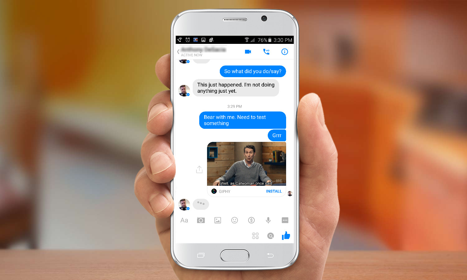 How to Send a GIF in Facebook Messenger | Tom's Guide