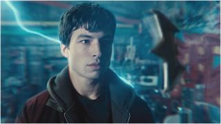 Ezra Miller as Barry Allen in Zack Snyder's Justice League