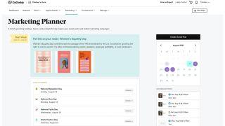 GoDaddy marketing planner