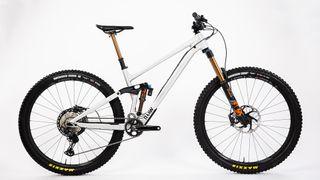 Raaw Madonna is an modern geometry 29er enduro bike