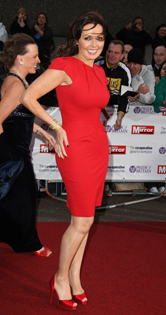 Carol Vorderman: 'Alan Carr's a naughty boy!'