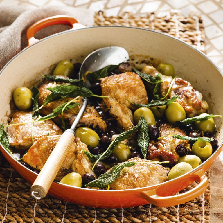 One pan chicken - easy chicken recipes - summer recipes - woman&home July 2013