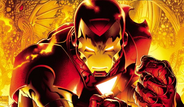 The Invincible Iron Man Powering Up