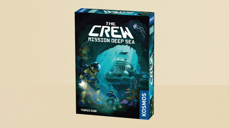 The Crew Mission Deep Sea review, box on yellow background