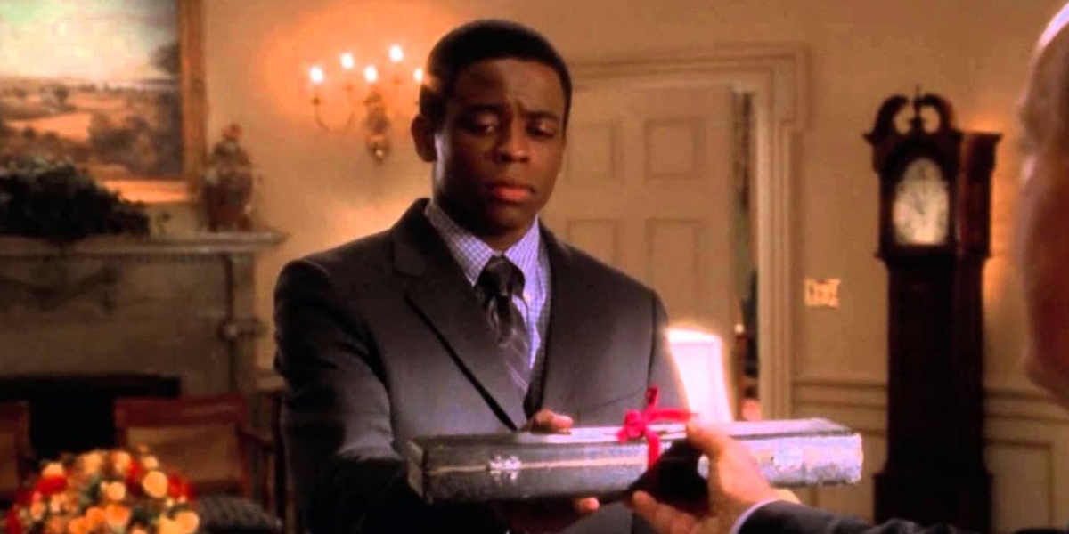 Dulé Hill in The West Wing