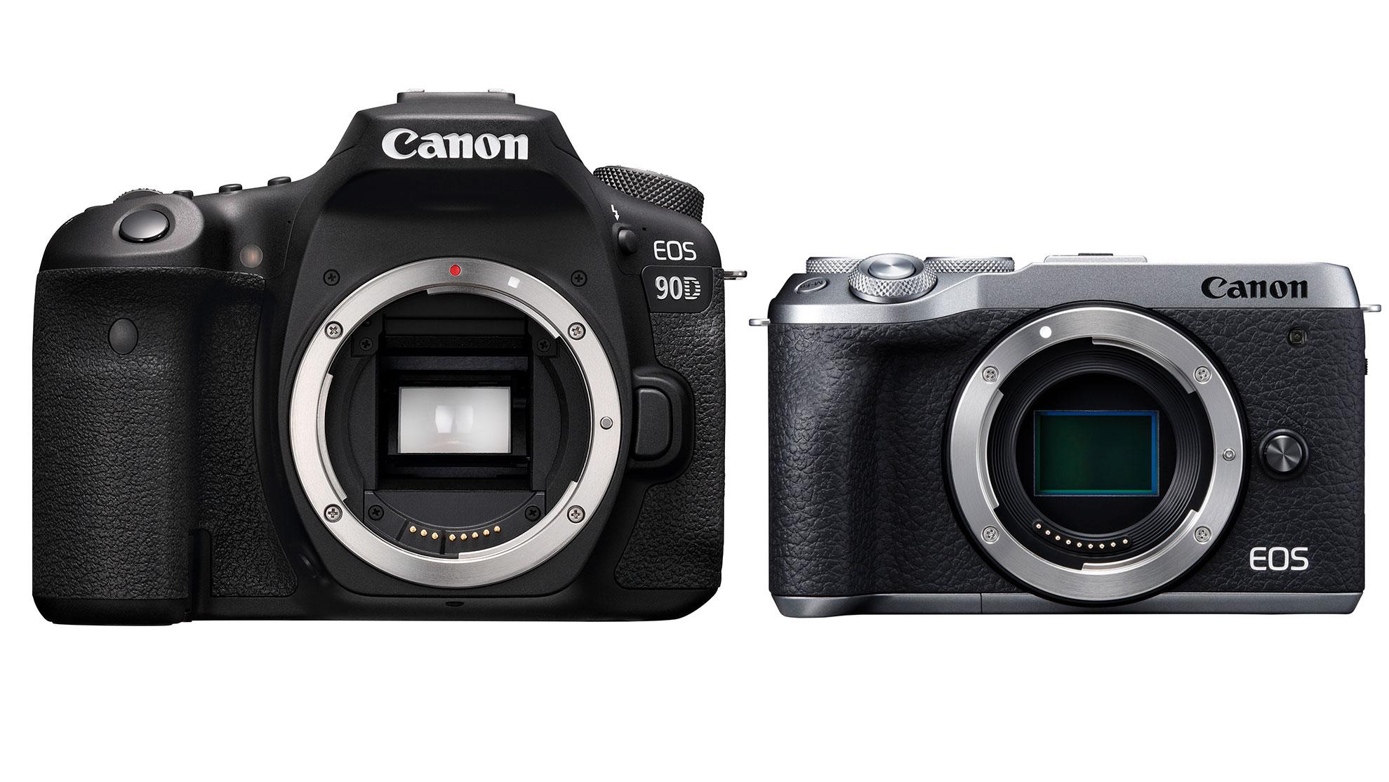 Canon EOS 90D vs EOS M6 Mark II   Digital Camera World