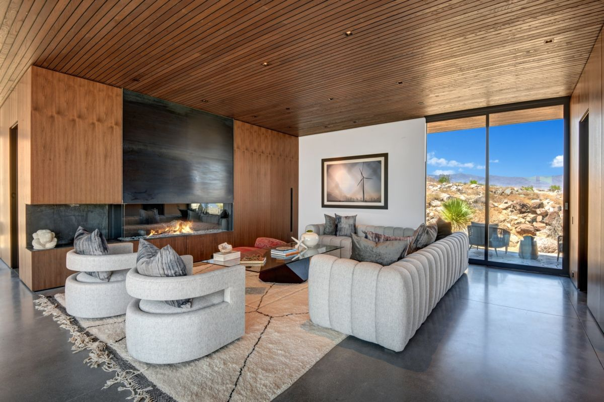 Step inside this rare and iconic modern Palm Springs home designed by Sean Lockyer