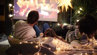 Backyard movie night: how to set up an outdoor cinema, projector and screen