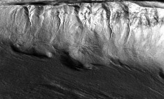 Melting Glaciers Sculpted Mars Gullies
