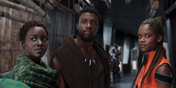 Black Panther 1 movie still