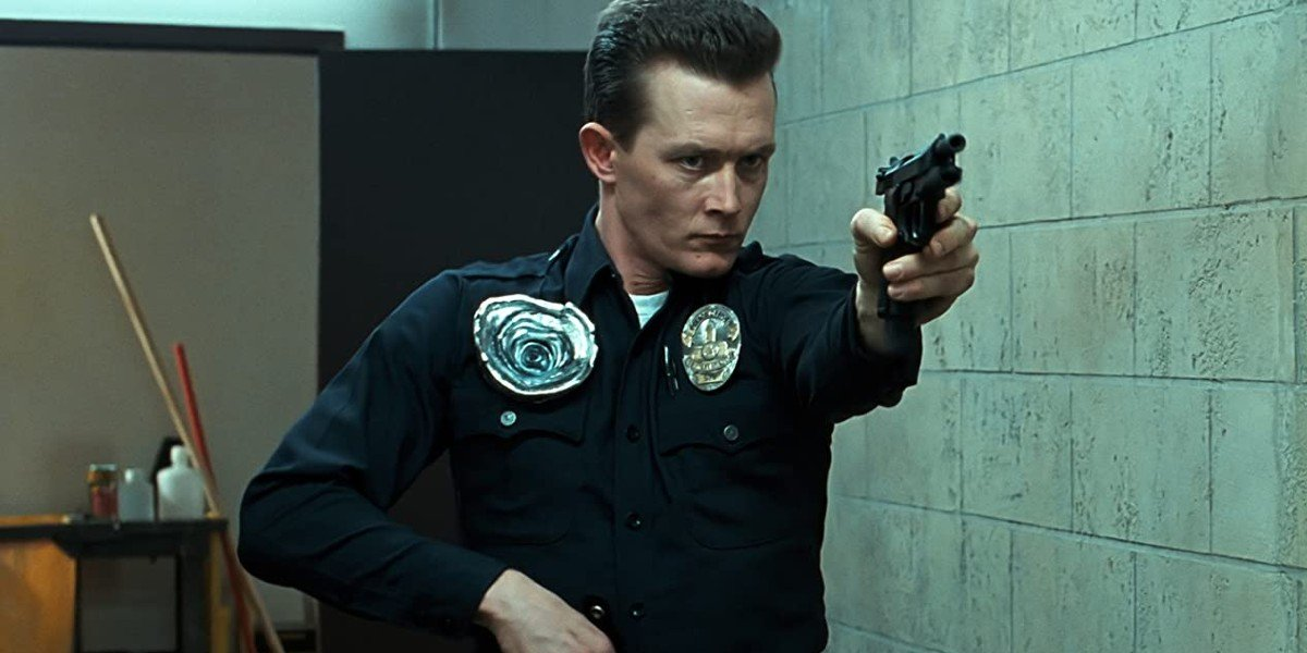 Robert Patrick as T-1000 in Terminator 2
