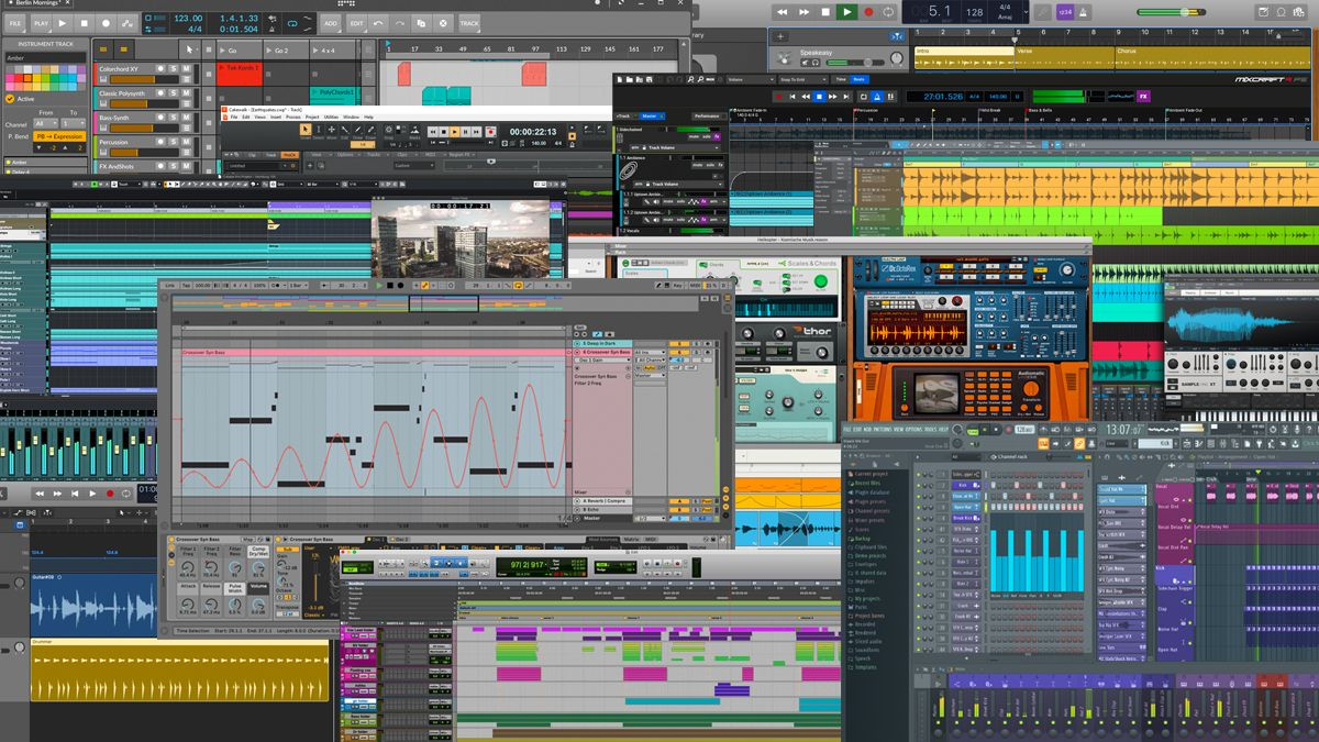 The Best Daws 2021 The Best Digital Audio Workstations For Pc And Mac Musicradar