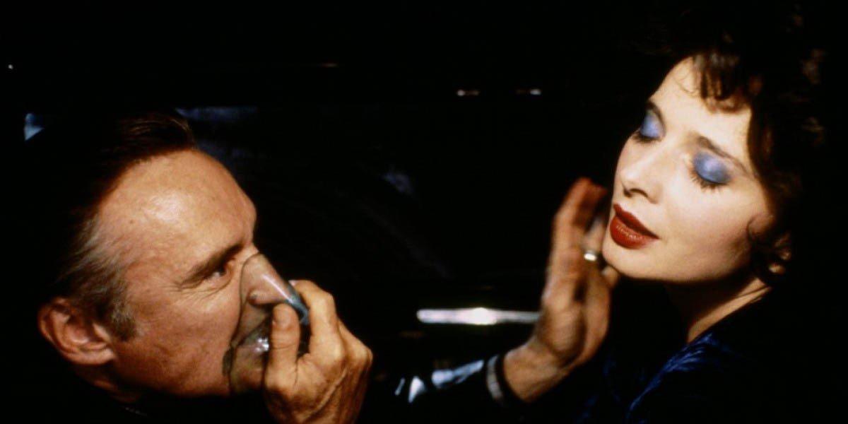 Dennis Hopper on the left