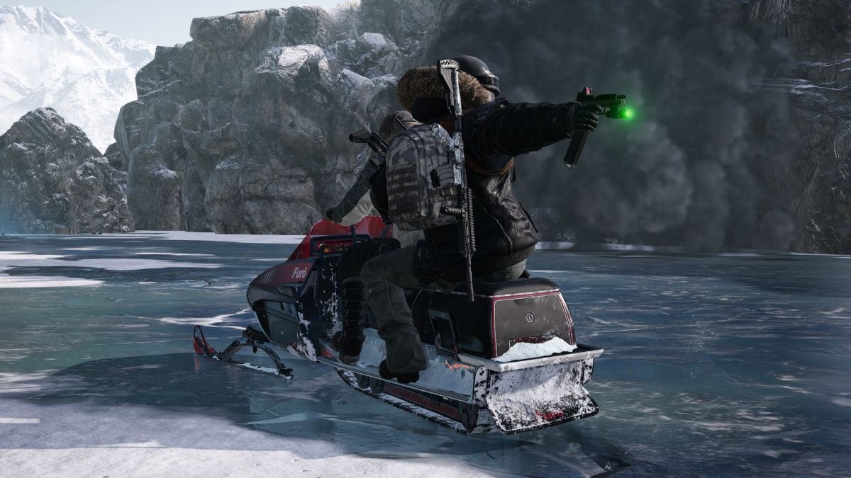 PUBG's world art director on the new map, a snowy island with a dinosaur park and snowmobiles