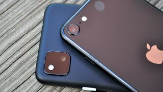 Google Pixel 4a vs. iPhone SE camera face-off