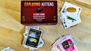 Exploding kittens wins!