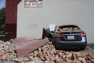 Napa Earthquake Damage