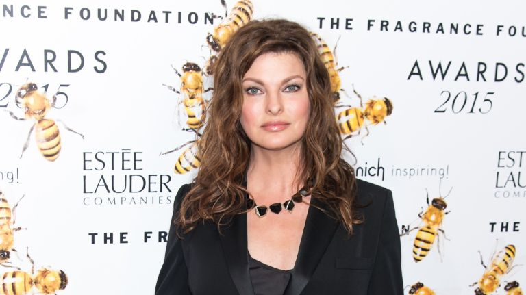 Model Linda Evangelista attends 2015 Fragrance Foundation Awards at Alice Tully Hall at Lincoln Center on June 17, 2015 in New York City.