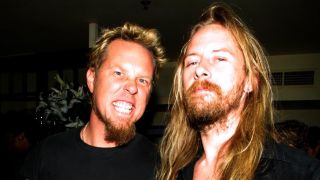 James Hetfield and Jerry Cantrell