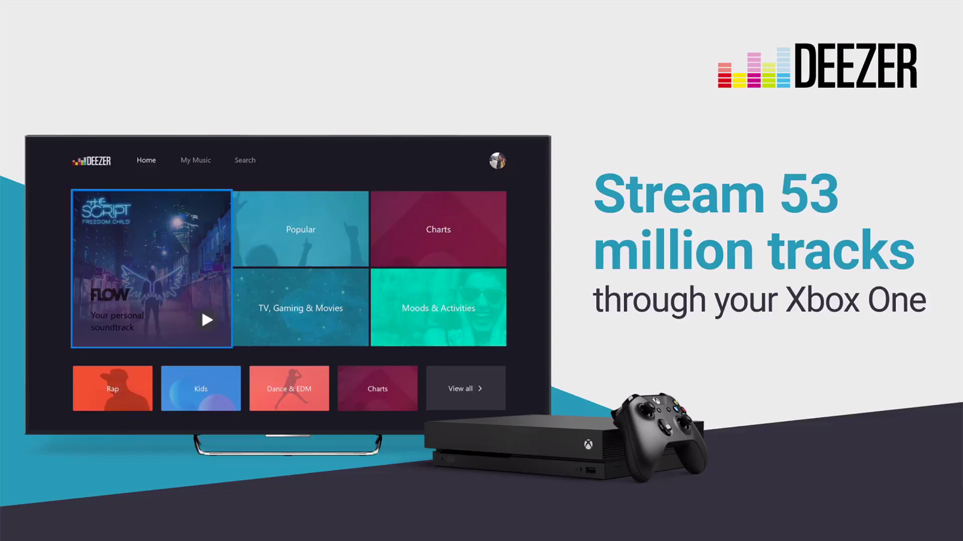 Deezer comes to Xbox One for tune streaming while you play | TechRadar