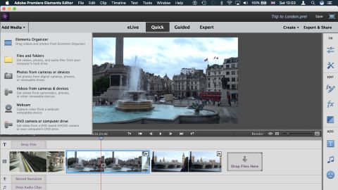 Adobe premiere elements 15 techradar adobe premiere elements 15 ccuart Choice Image