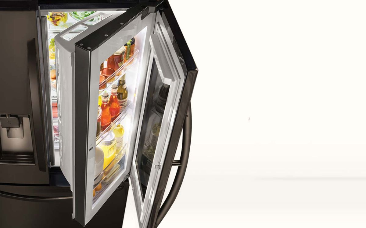 LG Instaview vs  Samsung Family Hub Refrigerator   Tom's Guide