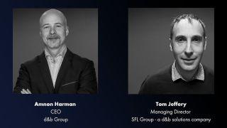 d&b solutions Amnon Harman and Tom Jeffery