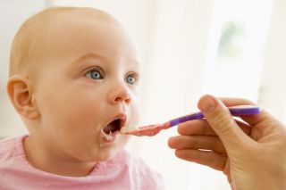 Pre-chewing your baby's food can boost his or her immune system.