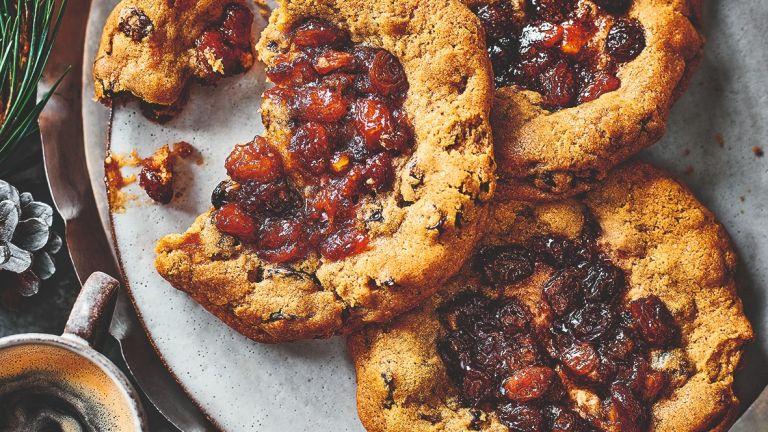 M&S Mince Pie Cookie