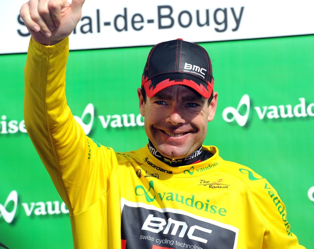 Cadel Evans takes lead, Tour de Romandie 2011, stage 4 TT