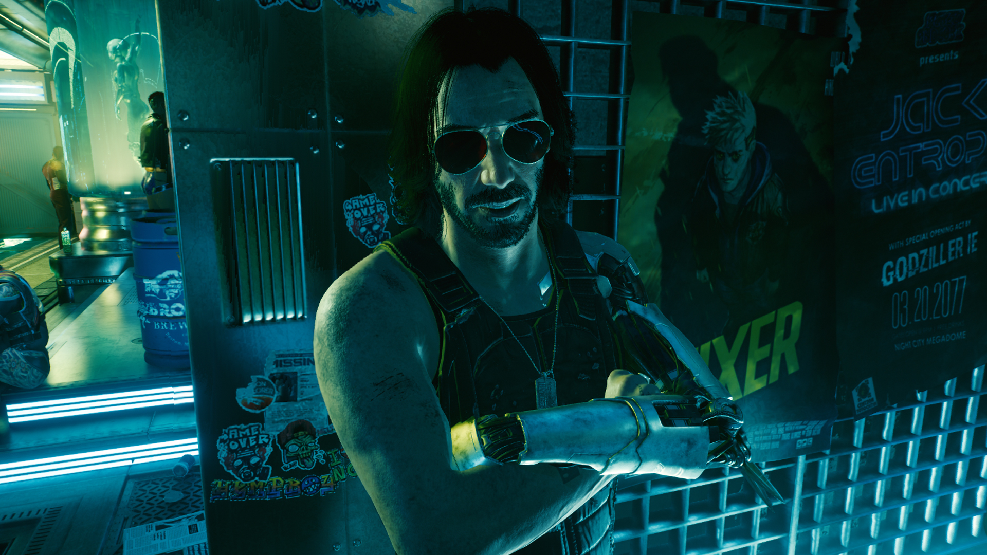 Cyberpunk 2077 hotfix 1.05 removes some bugs, and disables the debug console