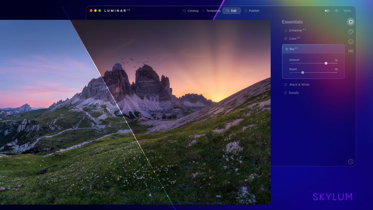 Skylum Luminar AI launches, and aims to 'reinvent traditional photo editing'