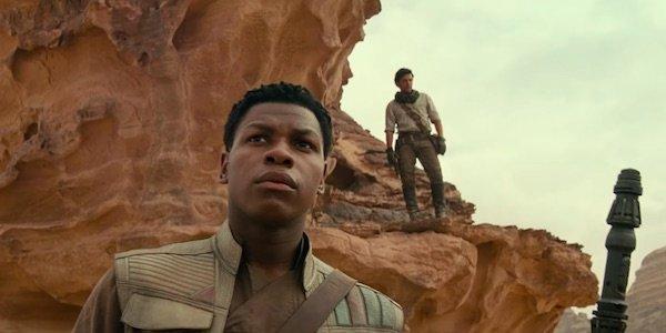 Finn in The Rise of Skywalker