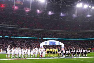 England v Germany – Women's International Friendly – Wembley Stadium