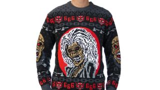 Iron Maiden Christmas Jumper And Scarf On Sale Now Louder